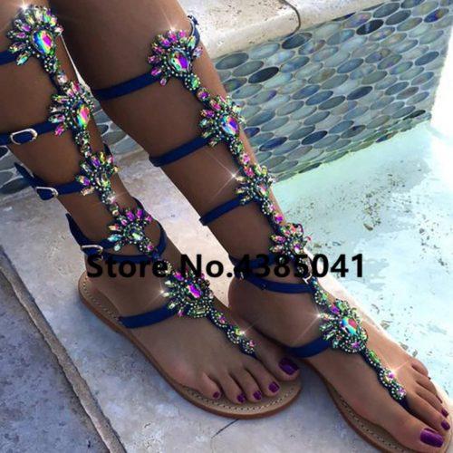 Gladiator Sandals Ladies Flats