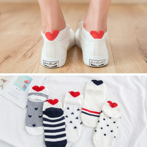 Ladies Socks Cute Footwear (5 Pairs)