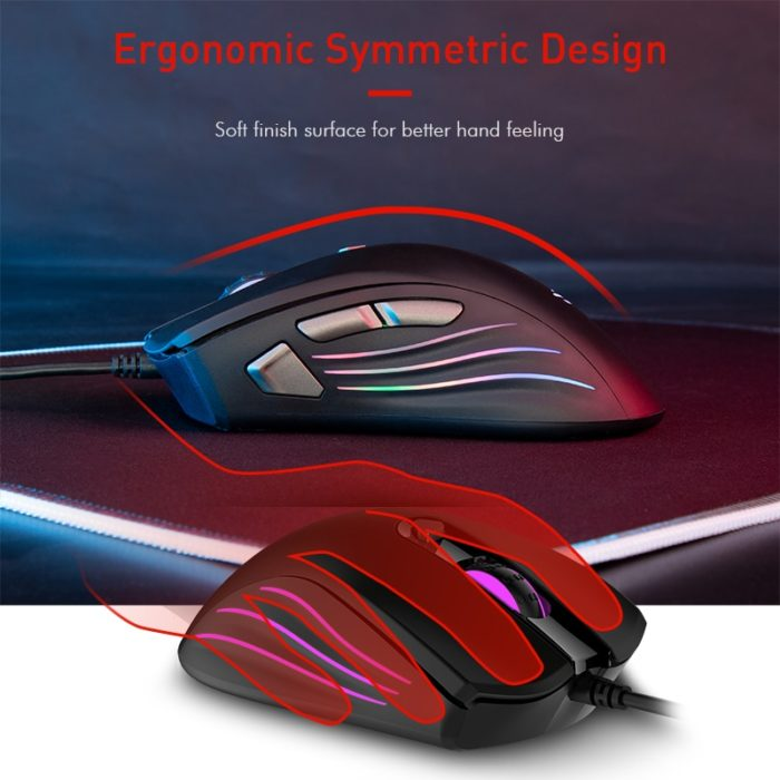 PC Gaming Mouse Backlit Computer Mouse
