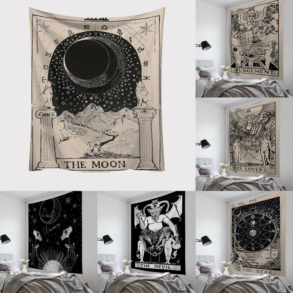 Wall Tapestry Astrology Design