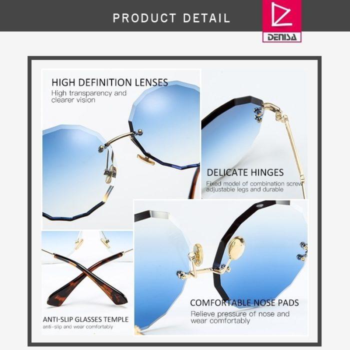 Fashion Sunglasses Round Retro Style