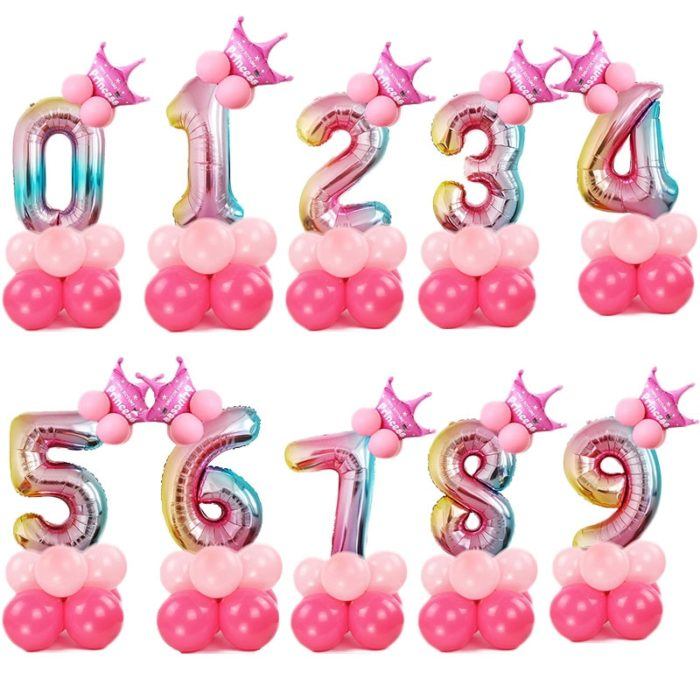 Number Balloons Party Decoration