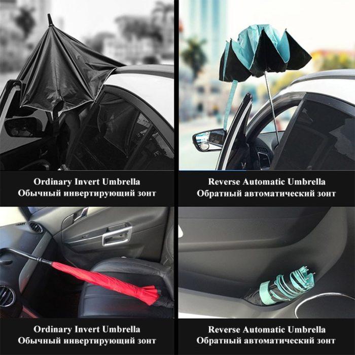 Inside Out Umbrella Folding Reversible