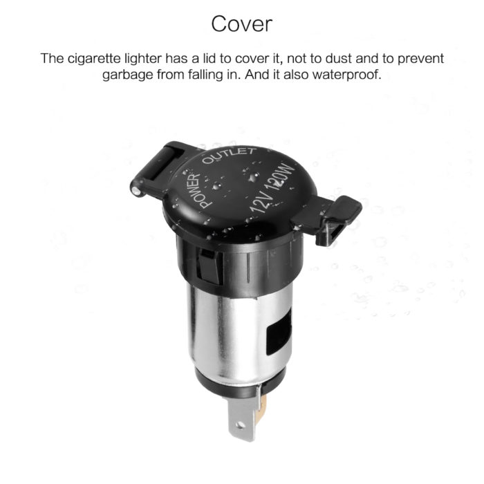 Cigarette Lighter Adapter Car Accessories