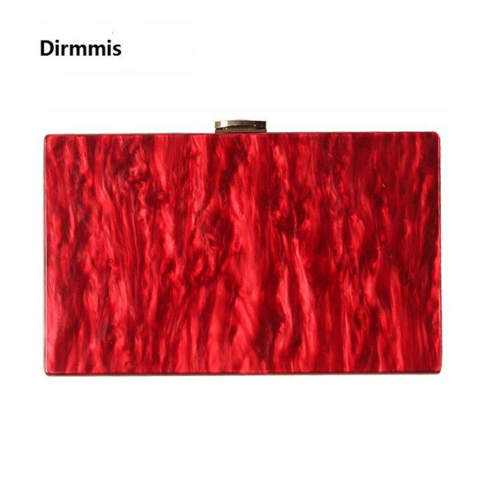 Red Bag Fashionable Solid Handbag