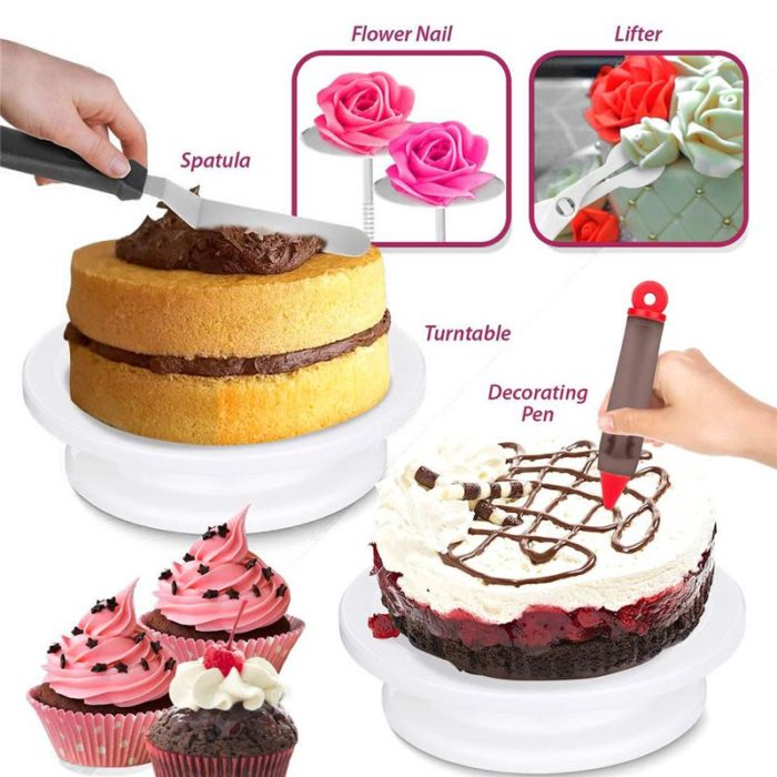 Cake Decorating Kit Pastry Set