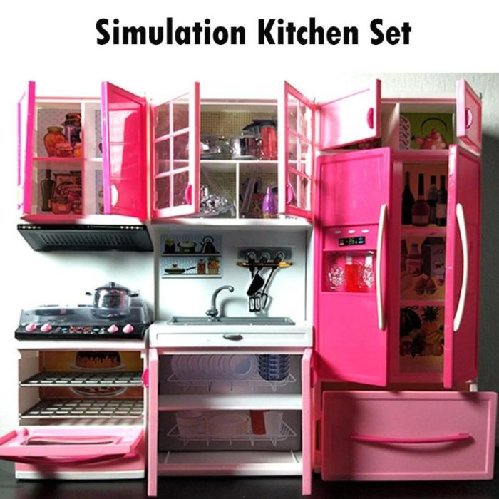 Kids Kitchen Playset Simulation Toys