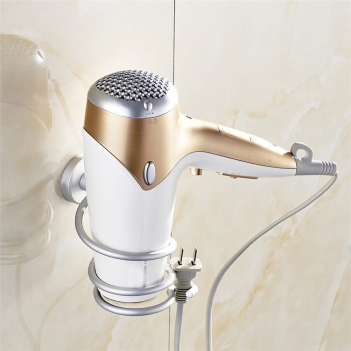 Hair Dryer Stand Wall Mount
