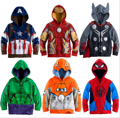 Boys Hoodies Cartoon Apparel