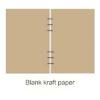 Blank kraft paper