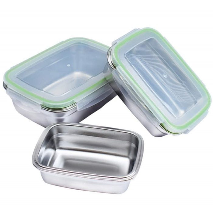 Freezer Containers Stainless Steel