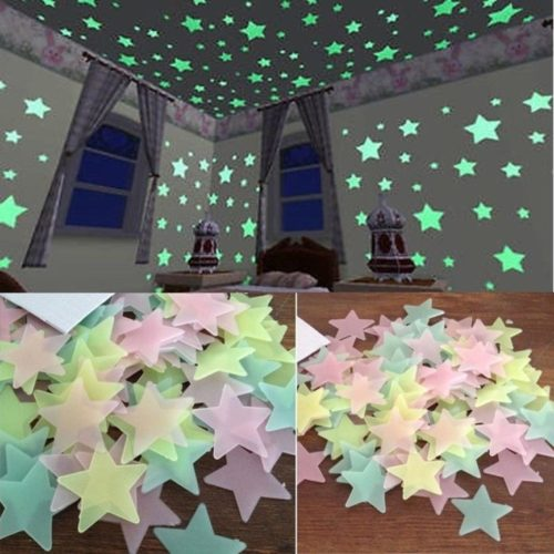 Star Stickers Glow in the Dark