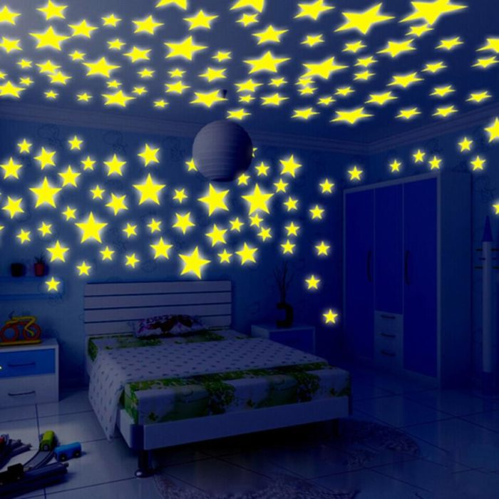 Star Stickers Glow in the Dark
