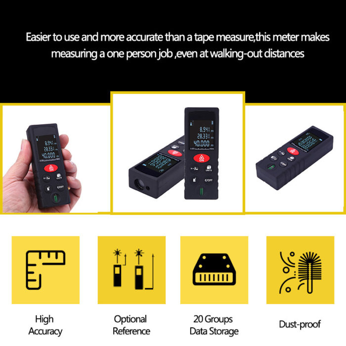 Electronic Tape Measure Distance Tool