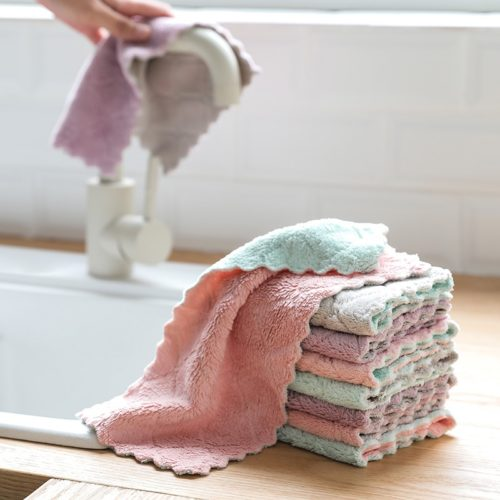 Microfiber Cleaning Cloth Kitchen Towel