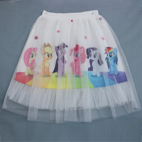 Kids Skirts Girls Tutu Cartoon