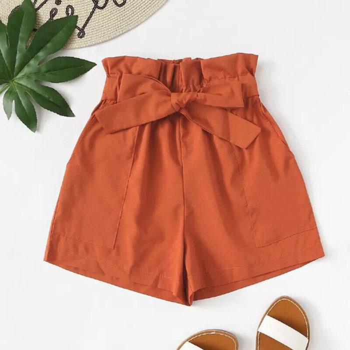 Womens Shorts High Waist Type