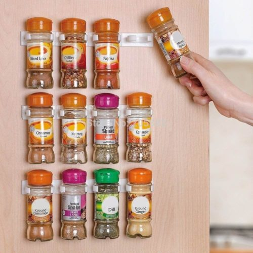 Spice Rack Organizer 12-Slot Storage