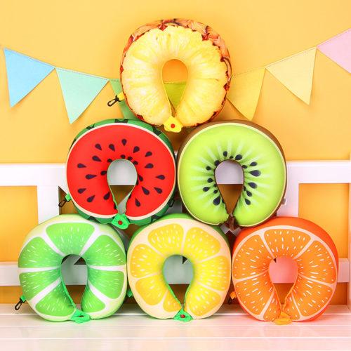 Airplane Pillow Fruit Design