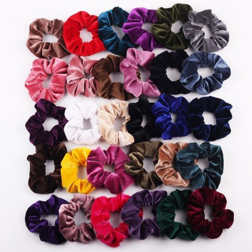 Scrunchies Ladies Hair Accessory