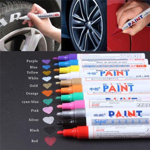 Tire Lettering Pen Repairing Paint