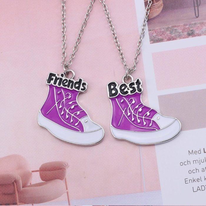 Best Friend Necklaces Friendship Pendants