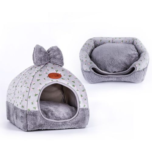 Cute Dog Beds Pet Cushion Tent
