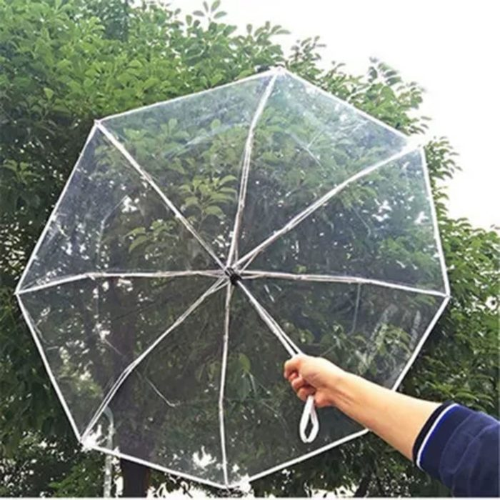 Clear Umbrella Foldable Automatic Shade