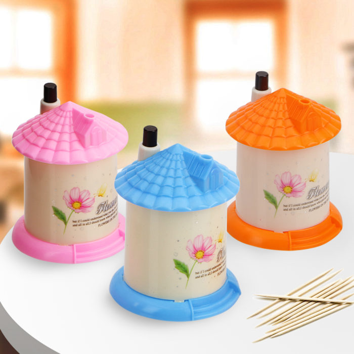 Toothpick Holder Automatic Dispenser