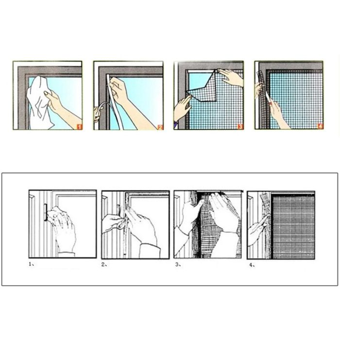 Insect Screen Window Mesh Net