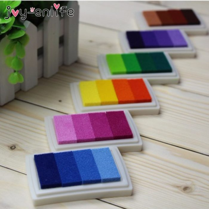 Ink Pad Colorful DIY Ink Stamps