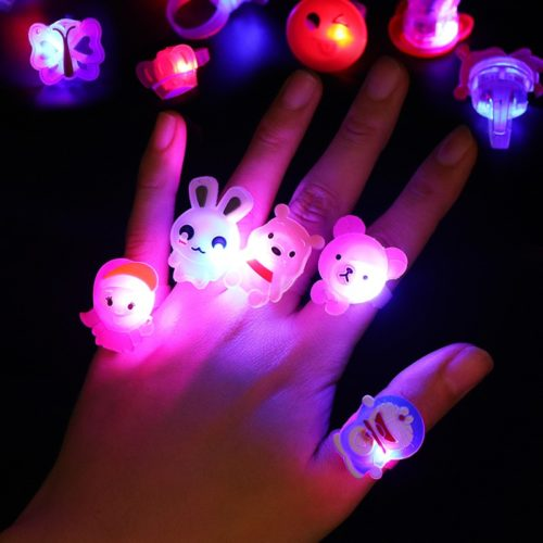 Plastic Rings Glow in the Dark