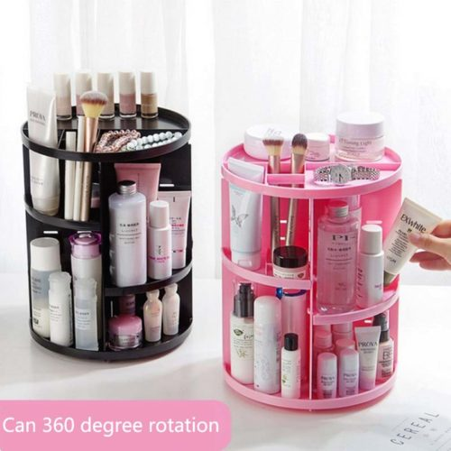 Makeup Holder Rotating Organizer