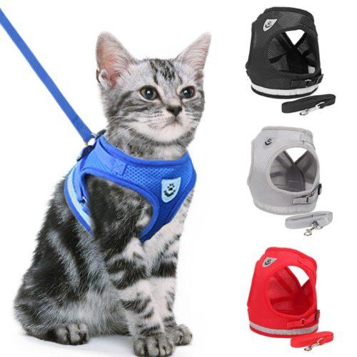 Cat Leash Reflective Pet Accessory