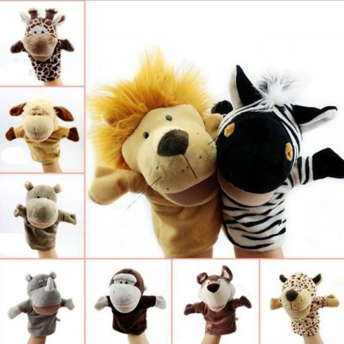 Hand Puppets Animals Plush Toy