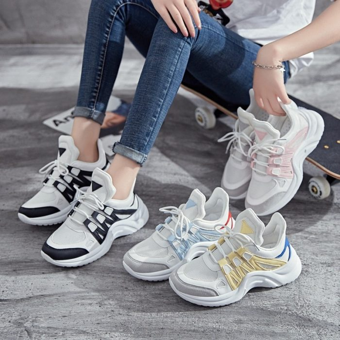 Casual Sneakers Women's Mesh Shoes