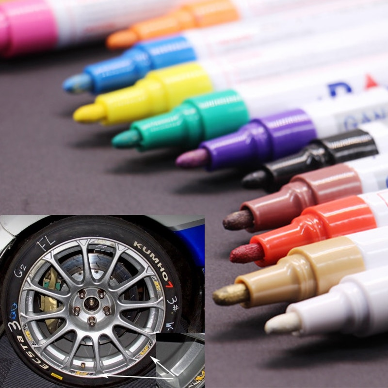 Tire Paint Waterproof Marker for Cars