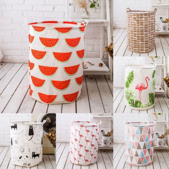 Clothes Basket Portable Organizer