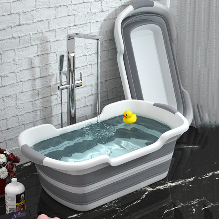 Infant Bath Tub Collapsible Non-Slip Tub