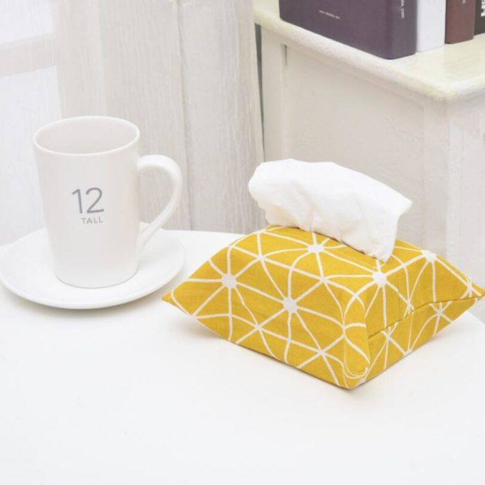 Tissue Holder Fabric Storage
