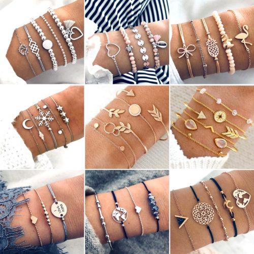 Bohemian Jewelry Bracelet Set