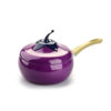 Eggplant Milk Pot