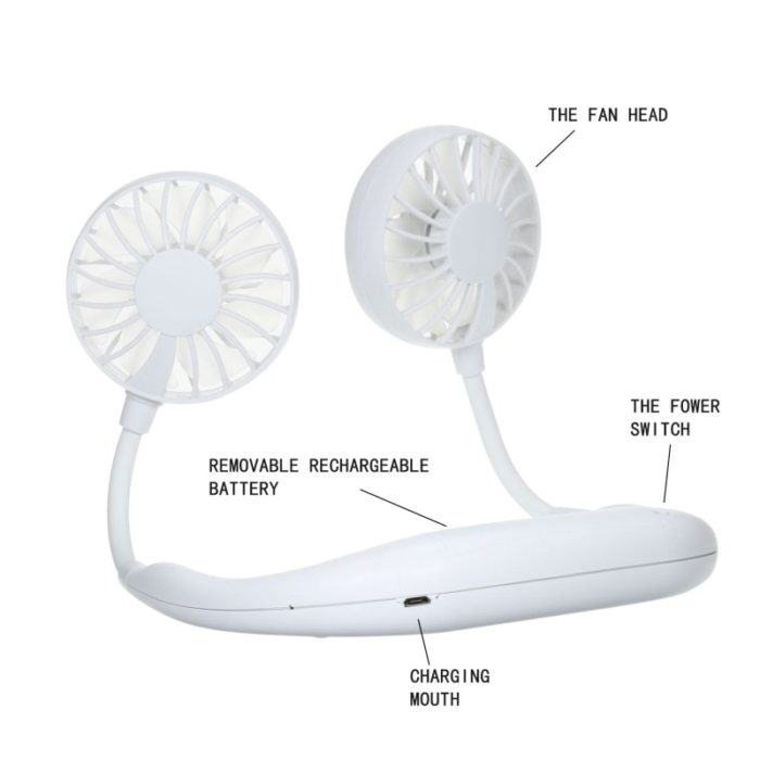 Battery Operated Fans Wearable Device
