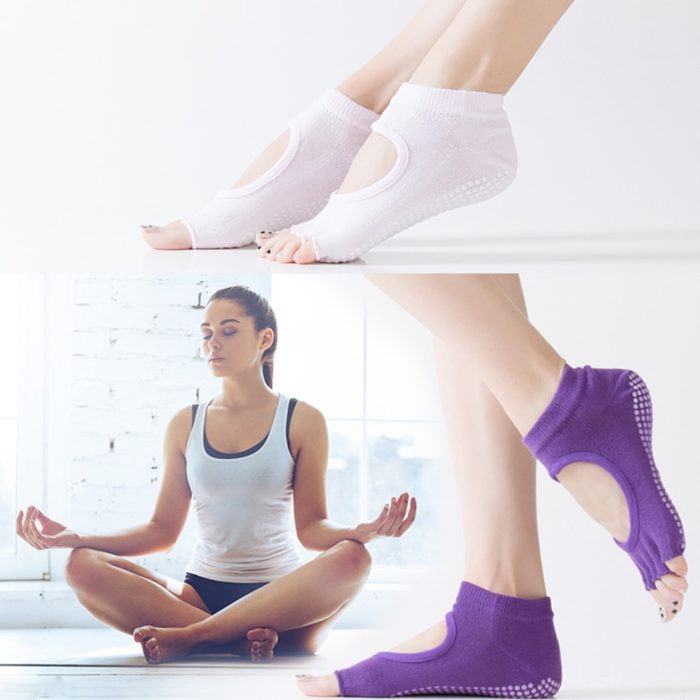 Yoga Socks Anti Slip Fitness Gym Sock