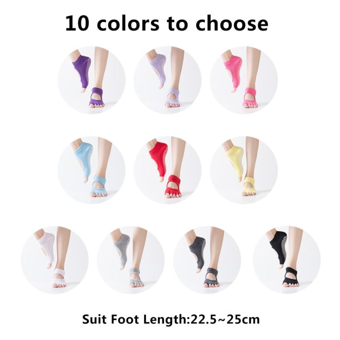 Yoga Socks Anti Slip Fitness Gym Sock