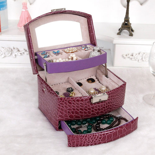 Girls Jewelry Box Accessories Organizer