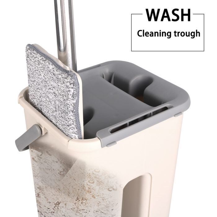 Mop Bucket With Wringer Cleaning Tool