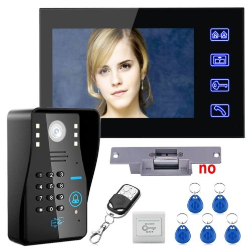 Wireless Intercom Home Security System