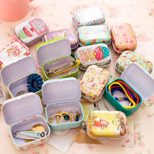 Small Containers Mini Tin Box