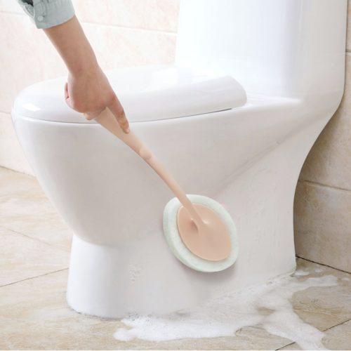 Tile Cleaner Handheld Sponge Brush